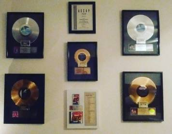 David's Gold & Platinum Records & Awards